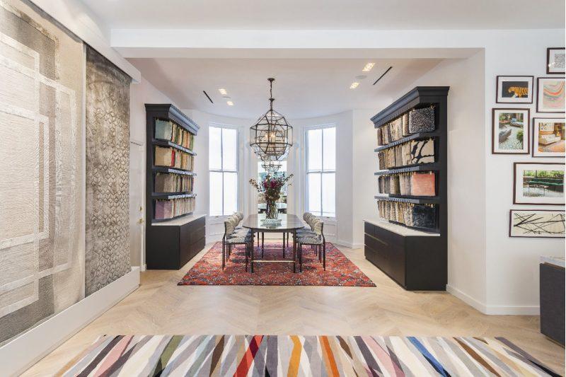 The rug company opens boston showroom on newbury street for 10 newbury salon