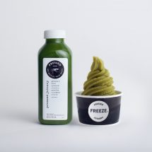 cold press green juice