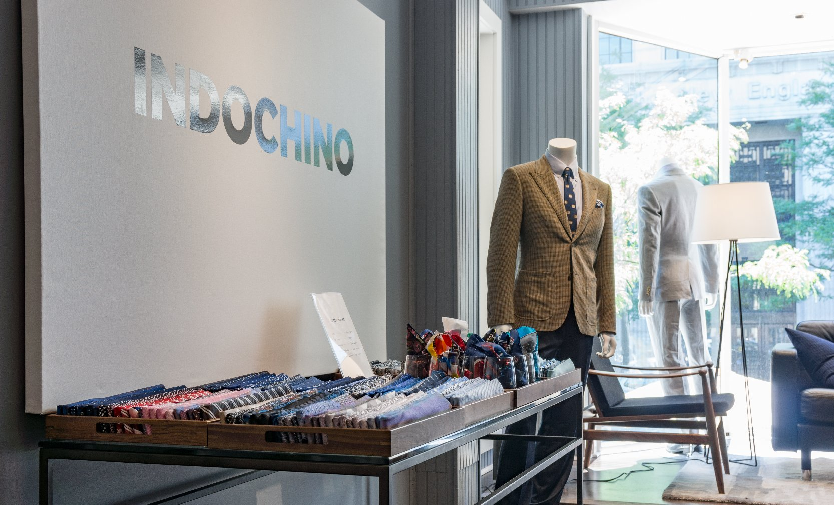 Indochino Newbury Street Boston