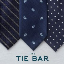 The Tie Bar Pop-Up Shop 211 Newbury Street