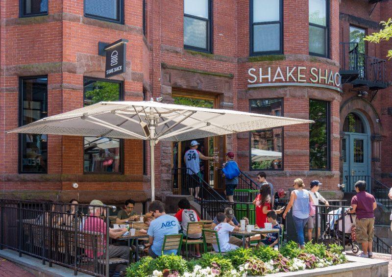 Shake Shack Newbury Street