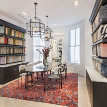 Handmade Rugs a Perfect Fit among Newbury Street Brownstones