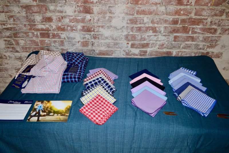 State and Liberty pocket squares