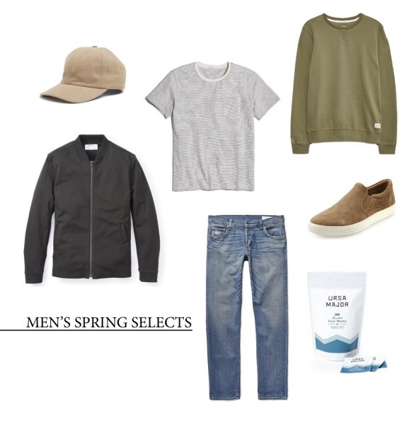 men's spring selects from newbury collection