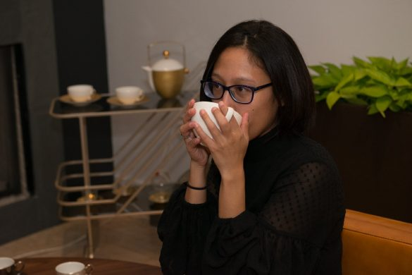 tea forte tasting newbury street opening event