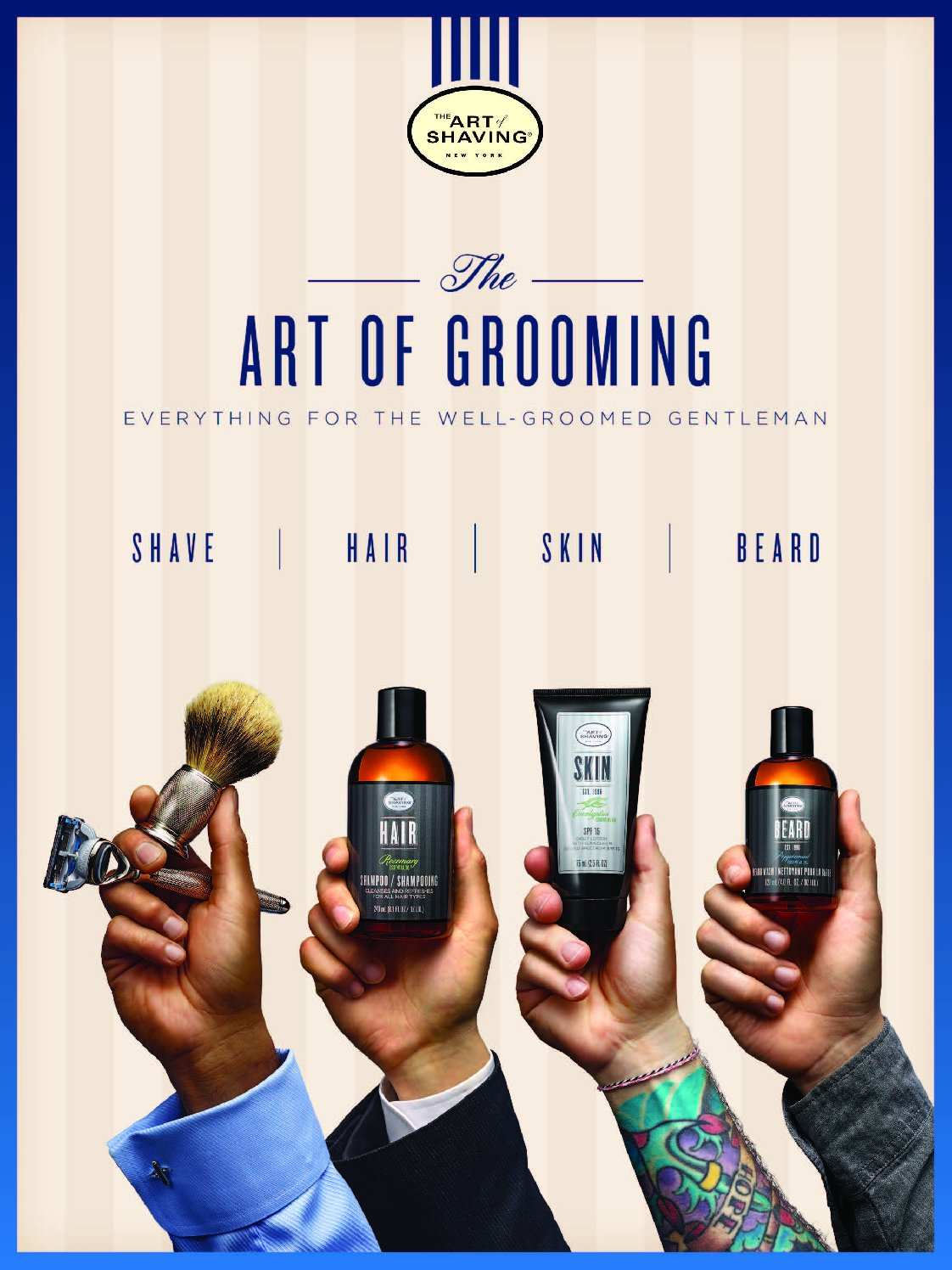 TAOS The Art of Grooming Poster