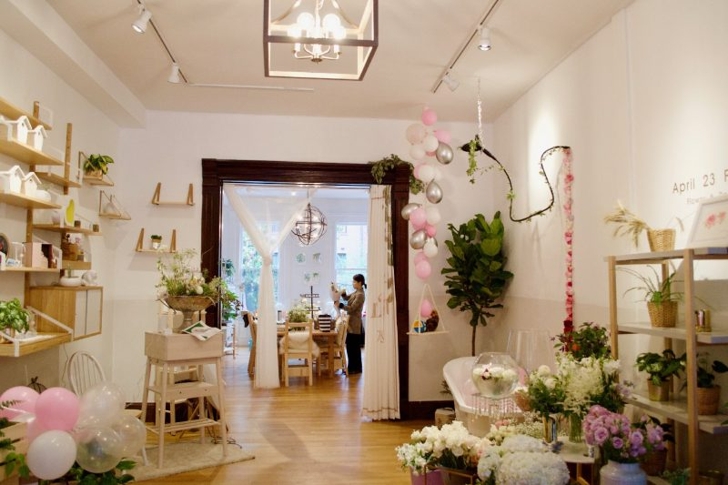 23 Florist Is Now Open At 211 Newbury Street, Combining Floral Design And  Training Experience.